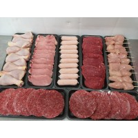 BBQ Pack - Large - 60 pieces of meat.