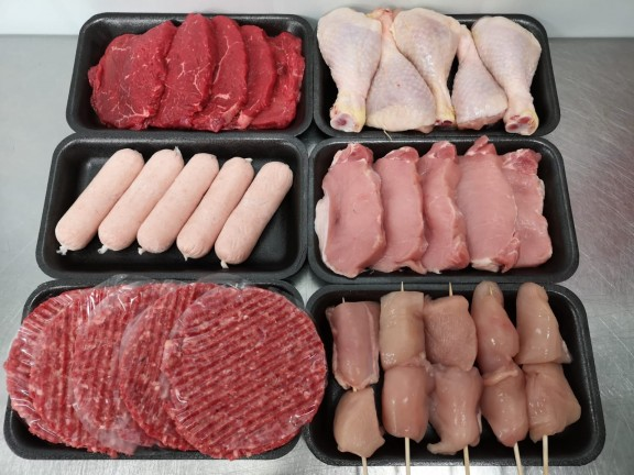 BBQ Pack - Medium - 30 pieces of meat.