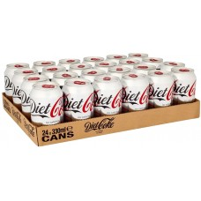 24 x Diet Coca-Cola Cans