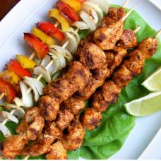 Chicken Kebabs x 5 - Piri Piri - Family Pack (Approximate weight 500g)