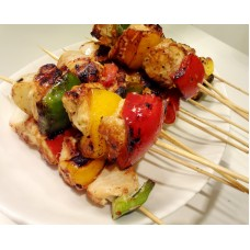 Chicken Kebabs x 5 - Family Pack (Approximate weight 500g)