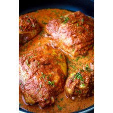 Chicken Thighs x 4 - Tandoori  - Family Pack (Approximate weight 750g)